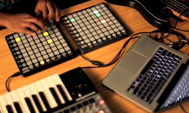 Halux trabaja su tema Take Me Out con tecnolog�a MIDI de Novation