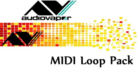 Audiovapor MIDI Loop Pack, 150 secuencias MIDI gratis