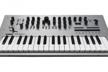 Korg minilogue frontal