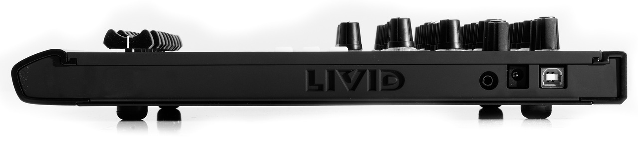Livid Instruments DS1, lateral