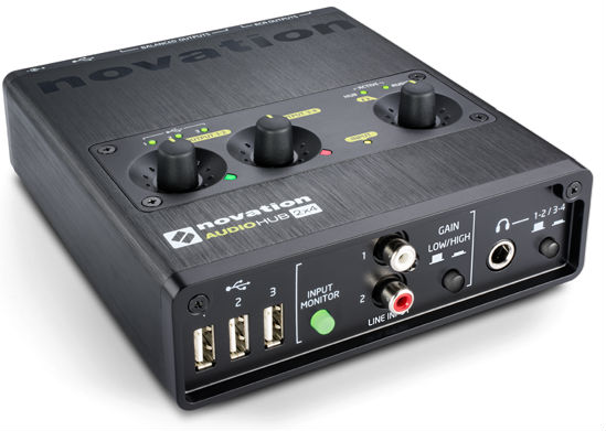 Novation_Audiohub_2x4