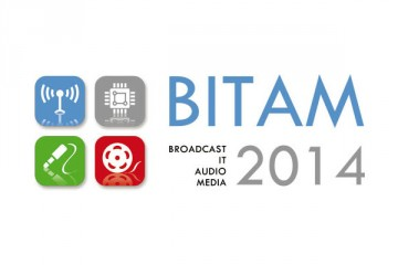 Logo BITAM 2014 - Salón Internacional de Broadcast, IT, Audio, Media
