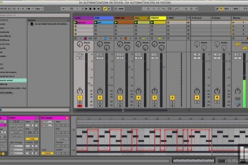 Ableton Live 9, vista 'Arreglo' optimizada
