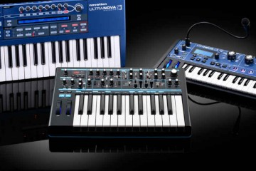 Sintetizadores Novation 2014: MINInova, ULTRAnova y Bass Station II