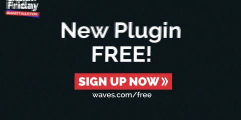 Plugin gratis de Waves como celebración del Black Friday