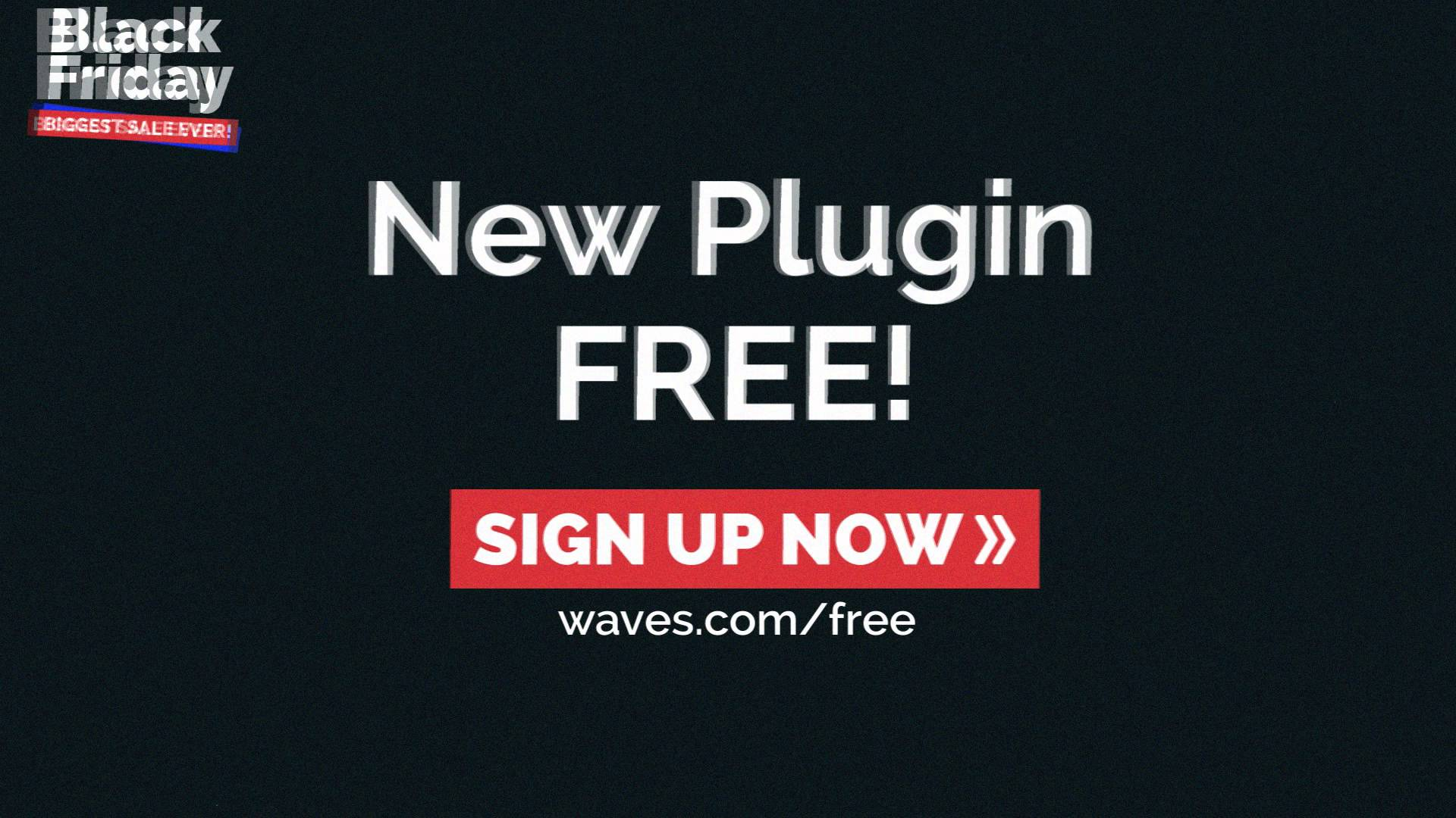 Plugin gratis de Waves en celebración del Black Friday