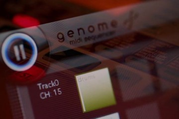 Secuenciador MIDI Genome para Apple iPad