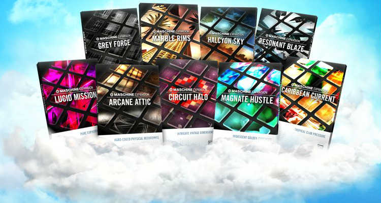 Maschine CLOUD 9, nueve expansiones por 99€