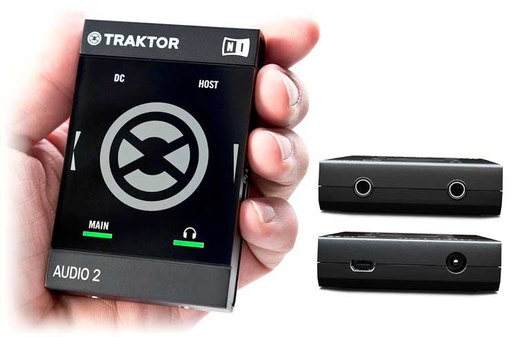 Interfaces de audio 2014: Native Instruments Traktor Audio 2