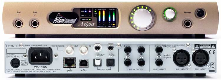 Interfaces de audio 2014: Prism Sound Lyra