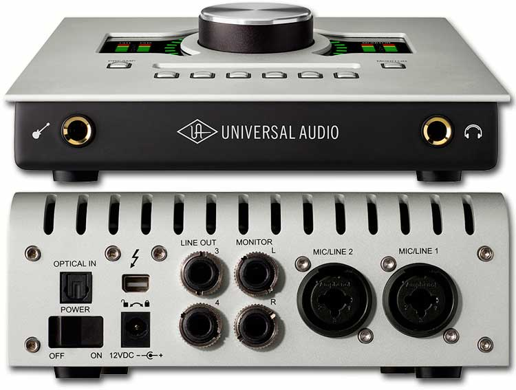 Interface de audio UAD Apollo Twin