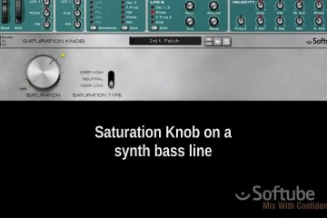 Softube Saturation Knob, plugin gratis para cualquier DAW