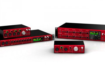 Focusrite Clarett, interfaces de audio Thunderbolt