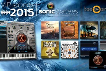 VIP Sounds 2015: descarga 165 instrumentos gratis y el ROMpler Best Service Engine