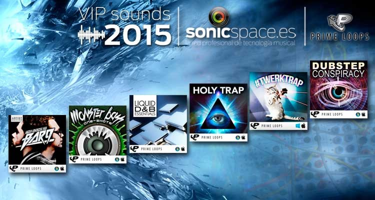 VIP Sounds 2015: seis kits de construcción bass music de Prime Loops