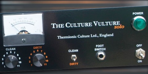 Thermionic Culture The Solo Vulture, unidad de distorsión a válvulas