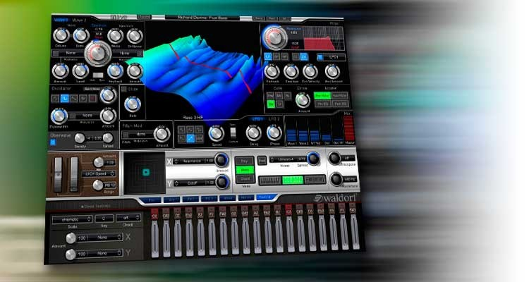 Waldorf Nave, sintetizador wavetable para PC y Mac