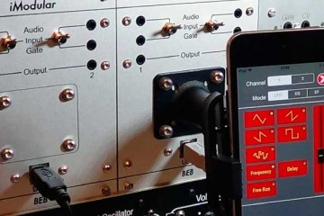 iModular, integra tu iPhone, iPad o iPod touch en sintetizadores modulares