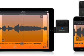 iRig Mic Field, micrófono para iPhone e iPad