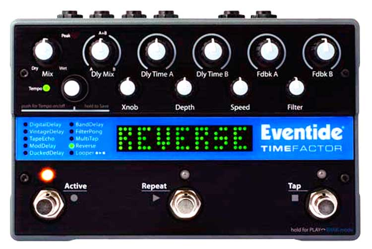 Eventide TimeFactor, panel frontal