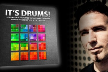 It's Drums, 18 kits de baterías gratis para Deephouse, Techno y Minimal