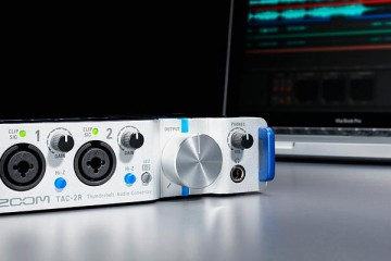 Zoom TAC-2R, interface de audio