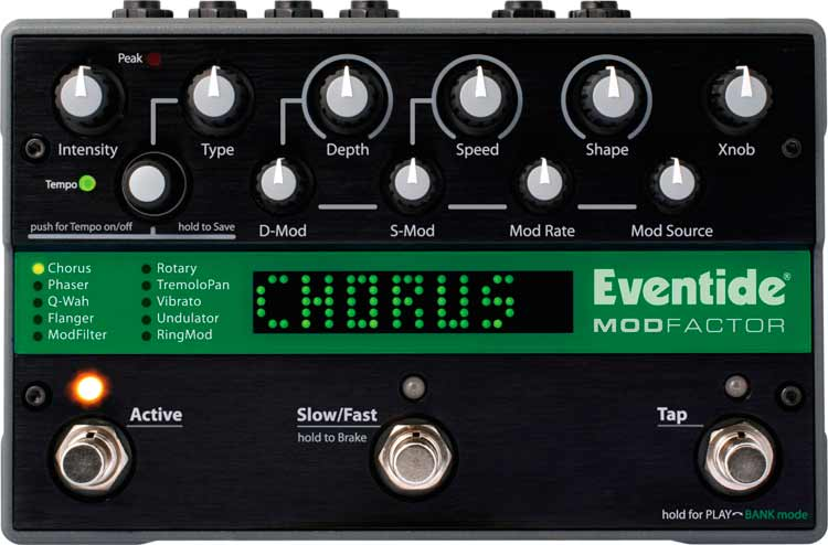 Eventide ModFactor, vista frontal