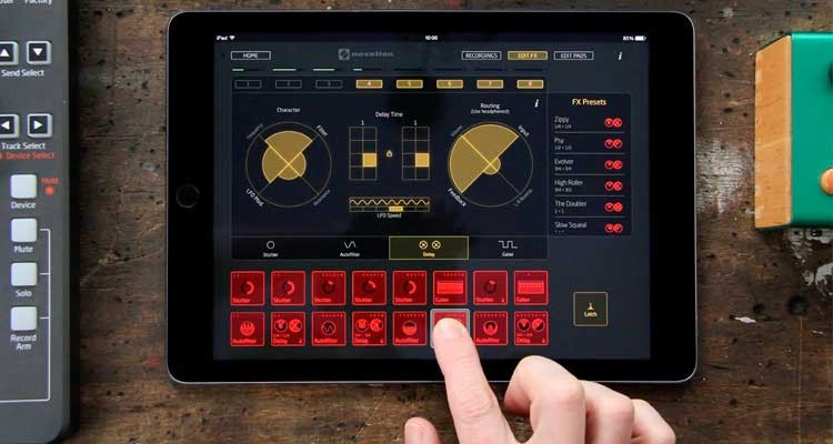 Novation Launchpad, actualizado con los efectos opcionales Performance FX