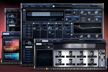 Cakewalk Rapture Pro, sintetizador plugin para PC y Mac