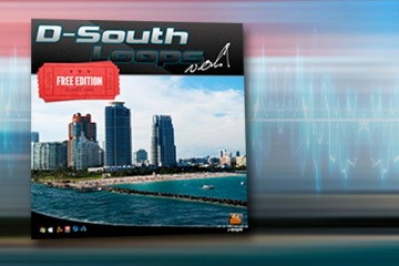 D-South Loops, 50 loops WAV gratis para dirty south & trap