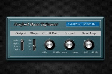 Sandford Bass Tightener, VST gratis de amplitud estéreo