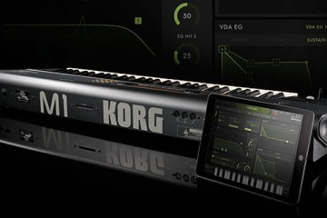 Korg iM1 materializa el mítico workstation M1 en tu iPad