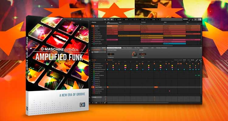 Nueva Maschine Expansion Amplified Funk de Native Instruments