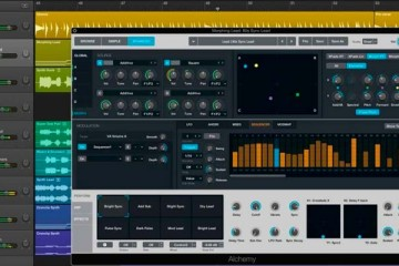 Logic 10.2 ya disponible, junto al sintetizador virtual Alchemy