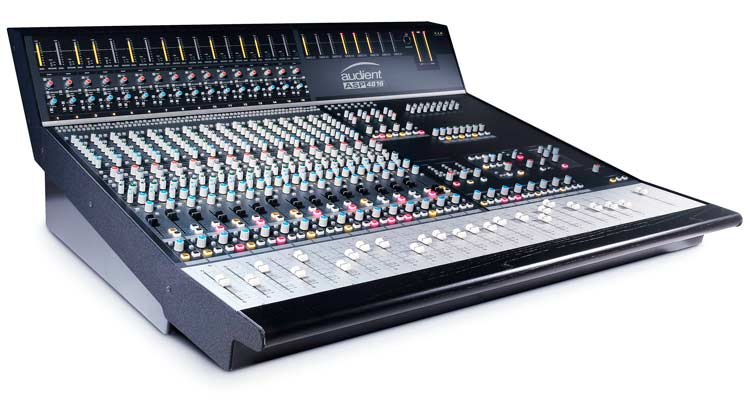 Audient, consolas e interfaces de alta gama para estudios y productores