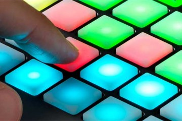 Novation Circuit, los pads