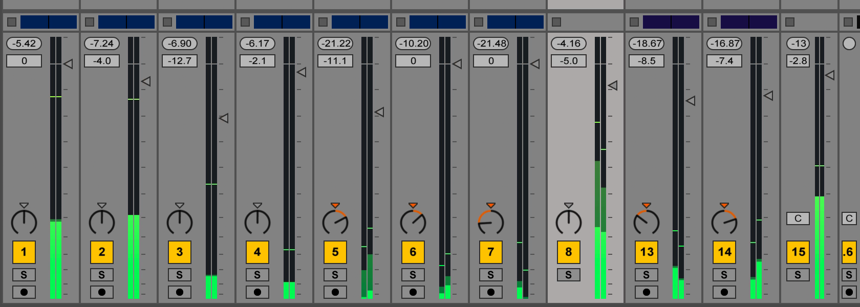 how to change metronome volume in ableton