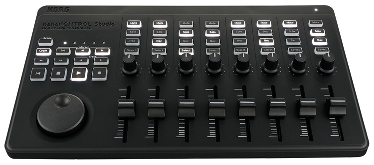 nuevos korg nanoseries studio los controladores midi que permiten tocar y mezclar sin cables. Black Bedroom Furniture Sets. Home Design Ideas