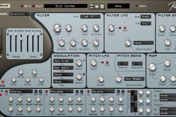 Rob Papen RG-RE, grooves de guitarra para Reason como plugin Rack Extension
