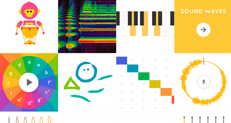 Más música en Chrome -adicción y valor educacional en Google Music Lab