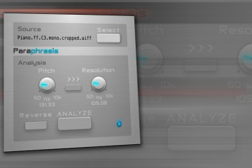 Virtual Analogy Paraphrasis, sintetizador gratis de modelado espectral para Mac (Audio Units)
