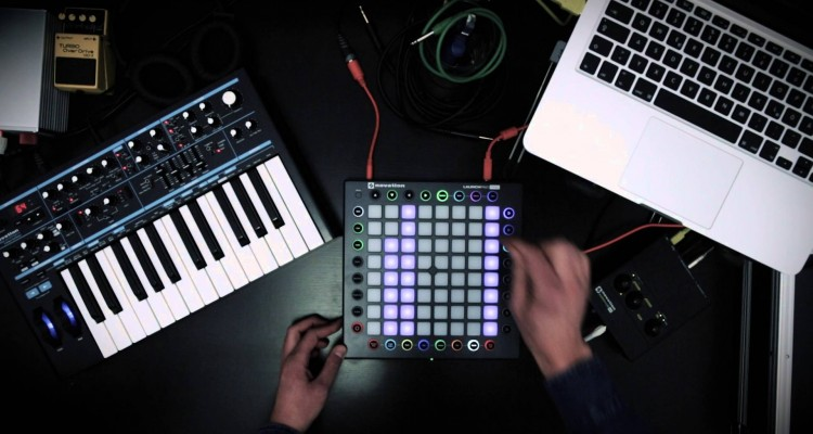 Novation Launchpad Pro y el Dark Techno-Jam de Alexander Franz