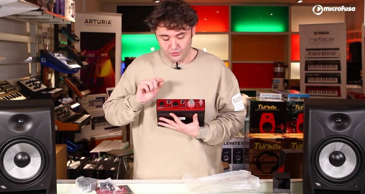 Interface de audio Focusrite Clarett 2Pre -unboxing microFusa Madrid