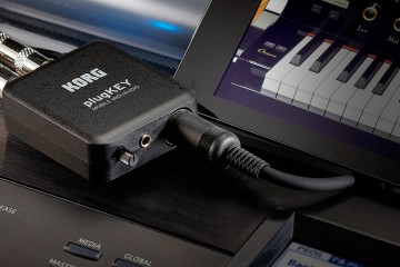 Korg PlugKey, Interface de audio y MIDI para Apple iPhone, iPad e iPod touch