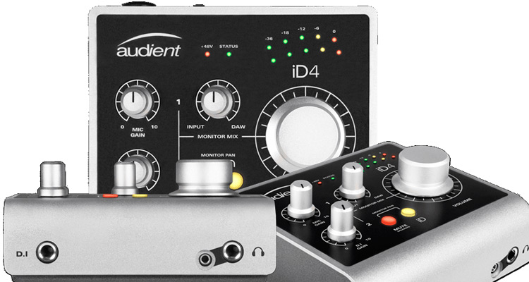 Audient iD4, interface de audio USB, profesional y de bajo coste