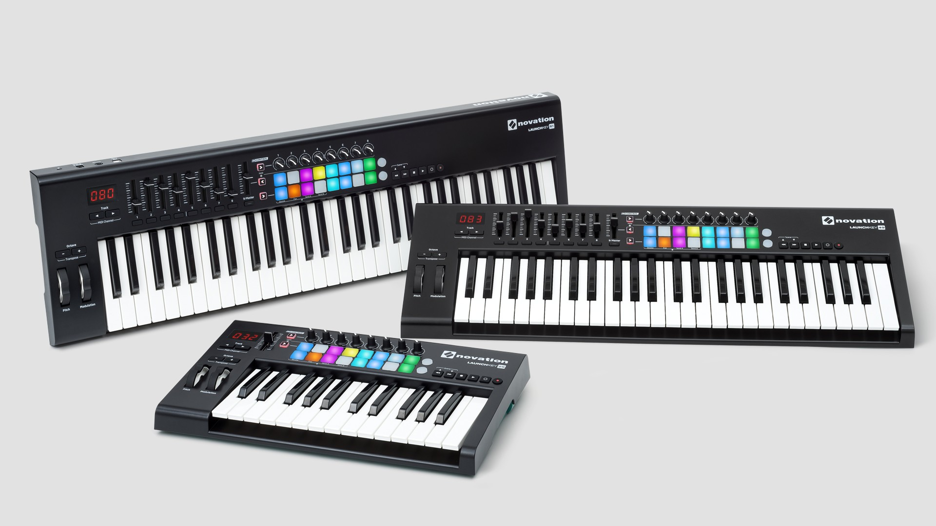 Teclados controladores MIDI Novation Launchkey