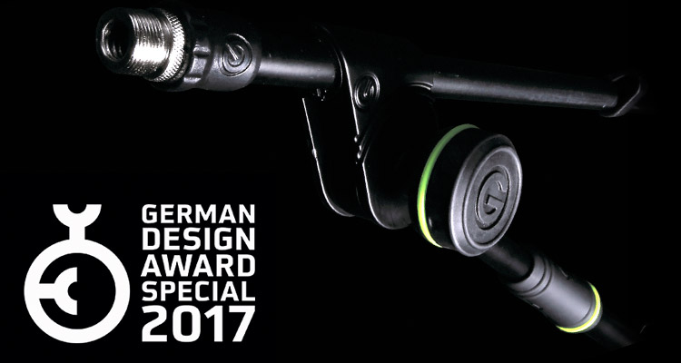Los soportes Gravity Stands ganan el premio internacional German Design Award