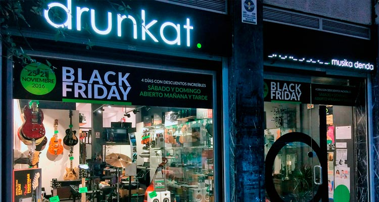 Ya es Black Friday en drunkat - ofertas musicales