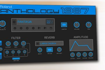 Anthology 1987, el sintetizador virtual Roland D50 de nombre cercenado