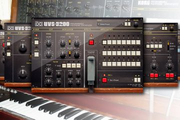 UVI Workstation UVS-3200, sintetizador virtual ultrarrealista clónico de Korg PS-3200